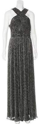 Calvin Klein Collection Metallic Evening Dress w/ Tags
