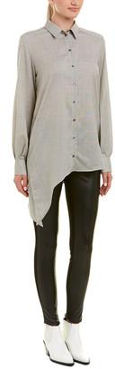 IRO Asymmetrical Wool Top