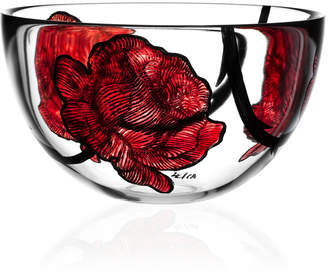 Kosta Boda Tattoo Large Glass Bowl