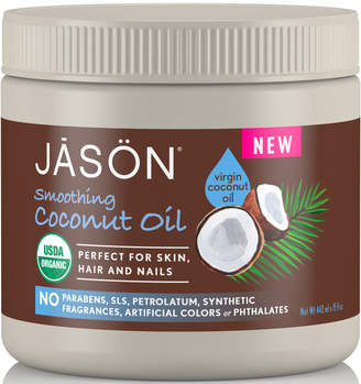 Jason Smoothing Organic Coconut Oil 443ml