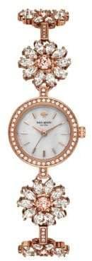 Kate Spade Daisy Chain Stainless Steel Analog Jewelry Bracelet Watch