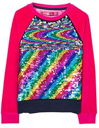 Desigual Girl's Sweat_EPICURO Sweatshirt,(Manufacturer Size: 3/4)