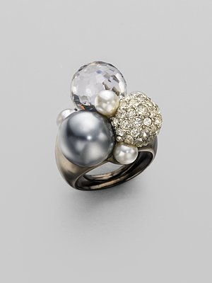 Kenneth Jay Lane Bubble Ring