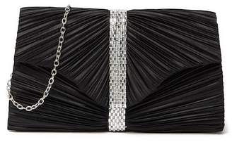 Jessica McClintock Florence Ruched Clutch