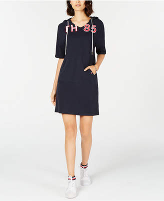 Tommy Hilfiger Hooded Sweatshirt Dress