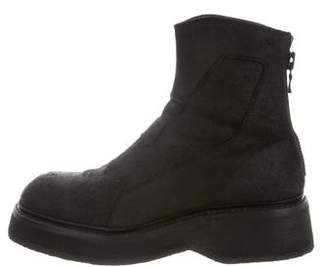 Julius Engineer Distressed Leather Boots