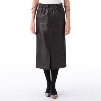 Snidel (スナイデル) - snidel フロントスリットミドルタイトスカート