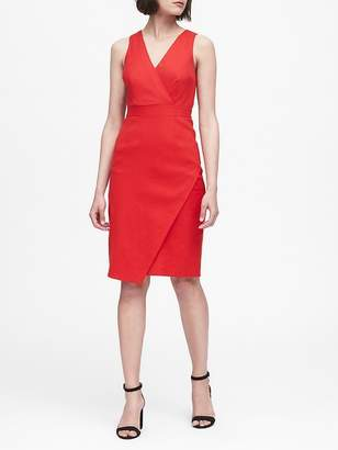 Banana Republic Linen-Cotton Sheath Dress