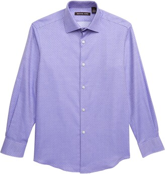 Michael Kors Squares Dress Shirt
