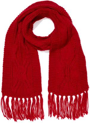 Portmans Australia Cable Knit Tassel Scarf