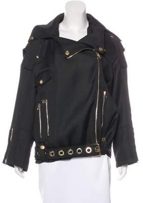 Pierre Balmain Belted Oversize Jacket