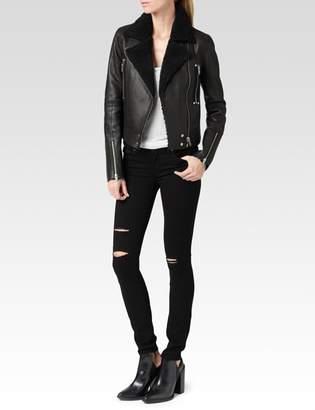Paige Rooney Jacket - Black Leather