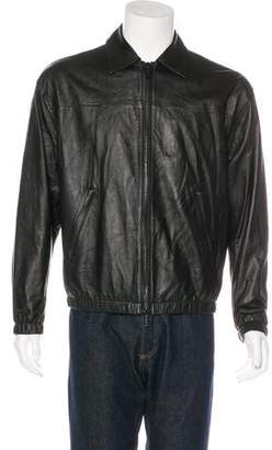 Michael Kors 2016 Collared Leather Jacket