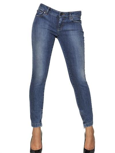 Dolce & Gabbana Pretty Washed Stretch Denim Jeans