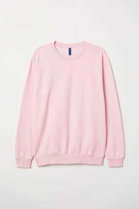 H&M Relaxed-fit Sweatshirt - Pink