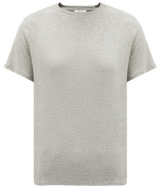 The Row Wesler Short Sleeve T Shirt - Womens - Grey