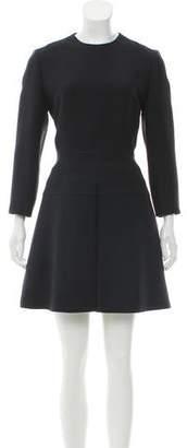 Christian Dior Three-Quarter Mini Dress
