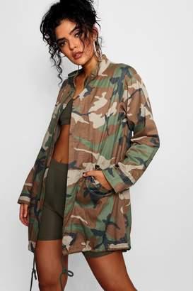 boohoo Jasmine Camo Jacket