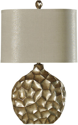 Stylecraft Style Craft 32In Contemporary Georgian Silver Lamp