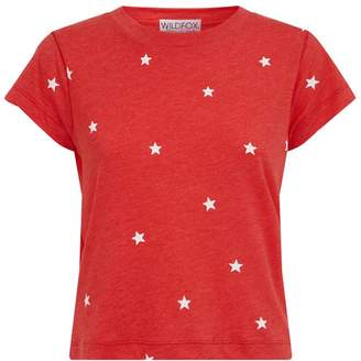 Wildfox Couture Star Print T-Shirt