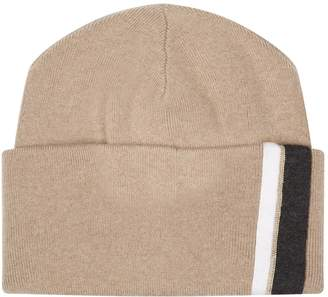 Brunello Cucinelli Chain Stripe Beanie