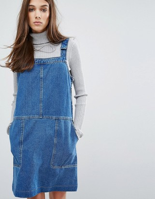 Oasis Patch Pocket Overall Dress $73 thestylecure.com