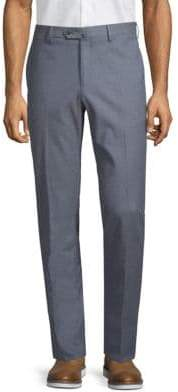 Loro Piana Flat-Front Cotton Trousers