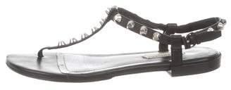 Balenciaga Embellished Thong Sandals