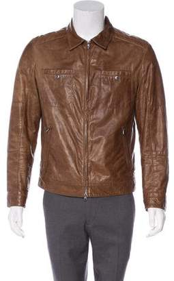 Brunello Cucinelli Thermore Leather Jacket