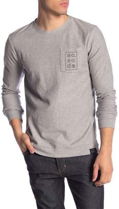 Scotch & Soda Logo Print Crew Neck Pullover