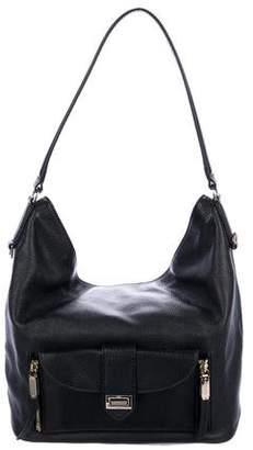 Henri Bendel Grained Leather Shoulder Bag