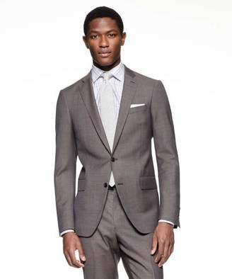 Todd Snyder White Label Sutton Suit Jacket in Italian Natural Stretch Brown Wool