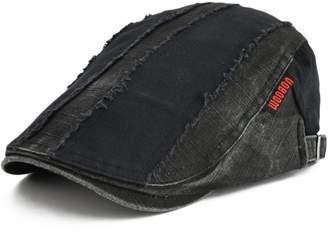 at Amazon Canada · VOBOOM 100% Cotton Distressed Ivy Caps Newsboy Caps  Cabbie Hat Gatsby Hat a9de4af8dc76