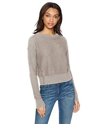 n:PHILANTHROPY Women's Shell Deconstructed Sweater