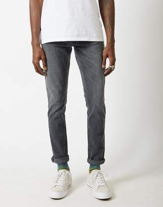Nudie Jeans Skinny Lin Shimmering Jeans Grey