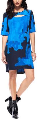 Ecru Silk Dress