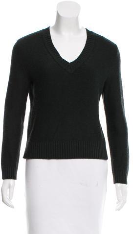 Tory BurchTory Burch Oversize V-Neck Sweater