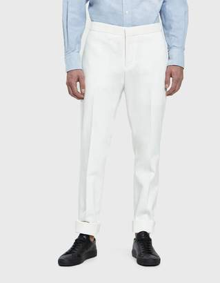 Thom Browne Skinny Denim Trouser In White