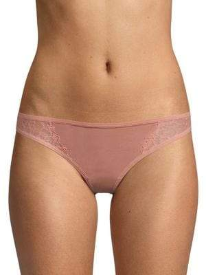 Honeydew Intimates Lace and Mesh Thong