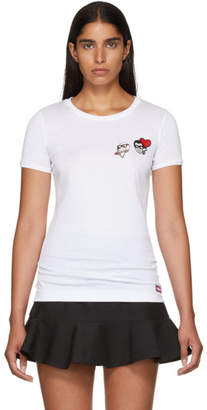 Dolce & Gabbana White Fitted Family T-Shirt