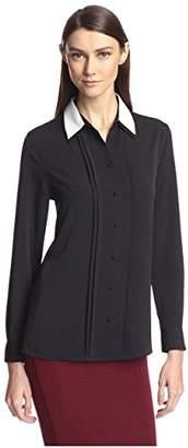 Society New York Women's Double Collar Shirt