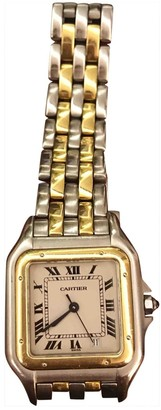 Cartier Vintage Panthere Gold gold and steel Watches
