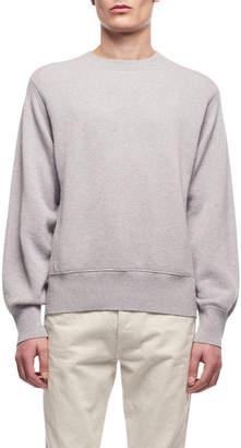 The Row Men's Nicolas Crewneck Cotton-Cashmere Sweatshirt