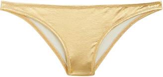 2c371861a6169 Solid   Striped Rachel Gold Bikini Bottom