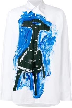 Marni printed oversized shirt