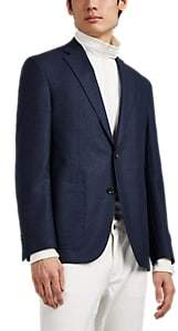 Barneys New York Men's Brad Wool Two-Button Sportcoat - Dk. Blue
