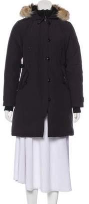 Canada Goose Kensington Fur-Trimmed Coat w/ Tags