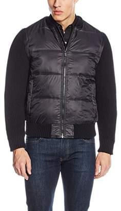 Esprit Men's 126EE2G005 Jacket, (Black), Medium