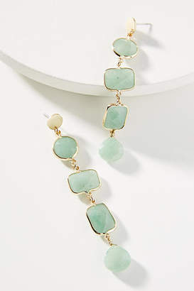 Anthropologie Jade Drop Earrings