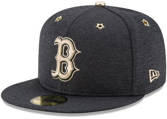 New Era Boys' Boston Red Sox 2017 All Star Game Patch 59FIFTY Fitted Cap